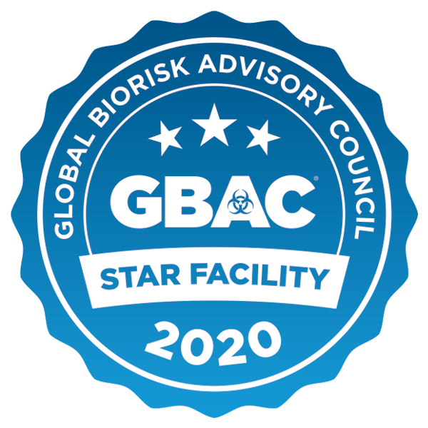 Global Biorisk Advisory Counsil GBAC Star Facility 2020