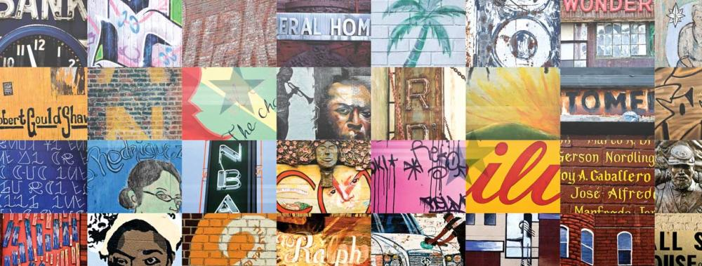 """Shaw Wall"" - celebrating DC's African American neighborhoods"