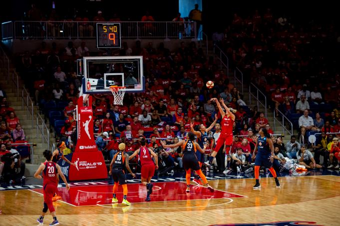 WNBA Finals Game One 2019 by Rich Kessler Photography