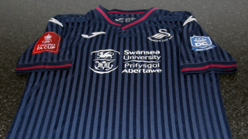 Swansea Jersey with Events DC Logo